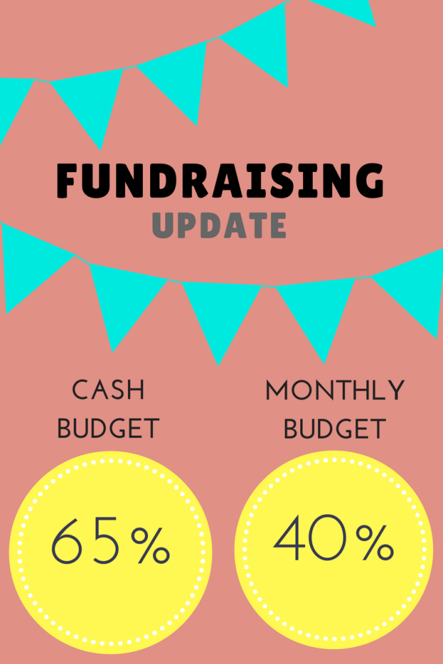 Fundraising update - May 29